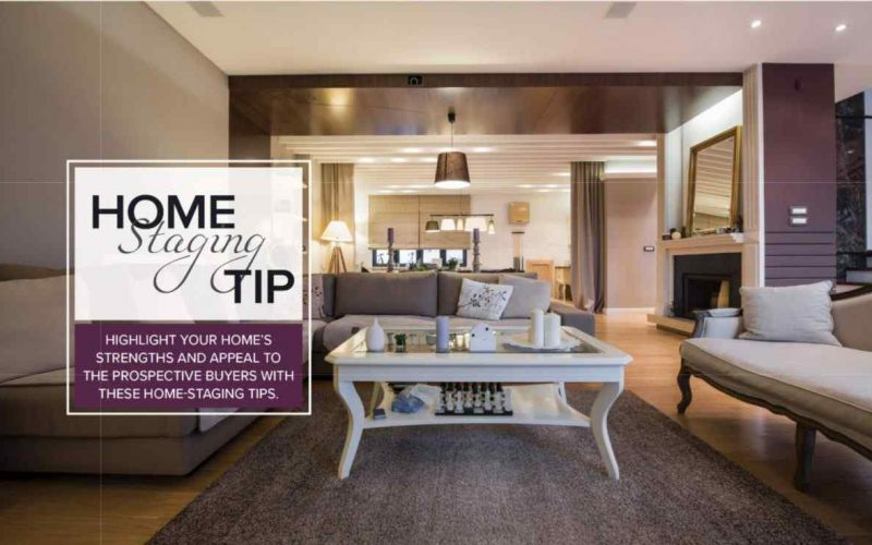 Home Highlight Staging Tip