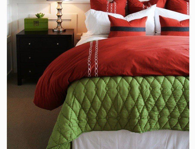 Beautiful Red Bed